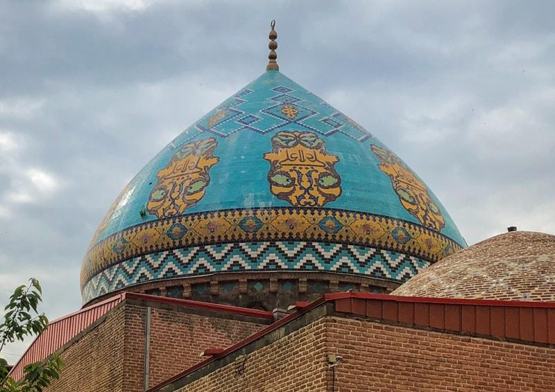blue mosque yerevan armenia-4-min