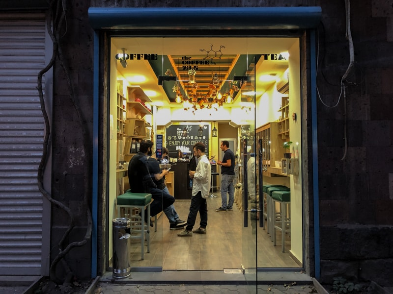 the coffee 23.5 : cafes in yerevan armenia coffee and wifi