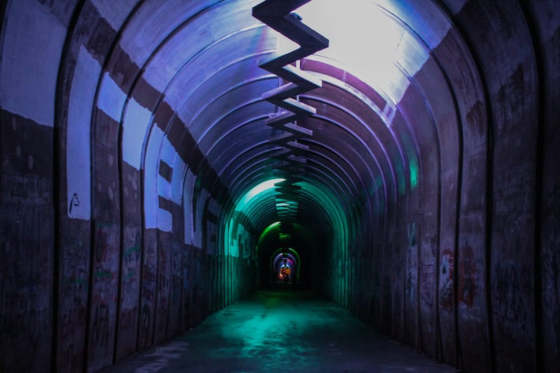 Urvakan Festival in Yerevan, Armenia 2019 Kond Pedestrian Tunnel