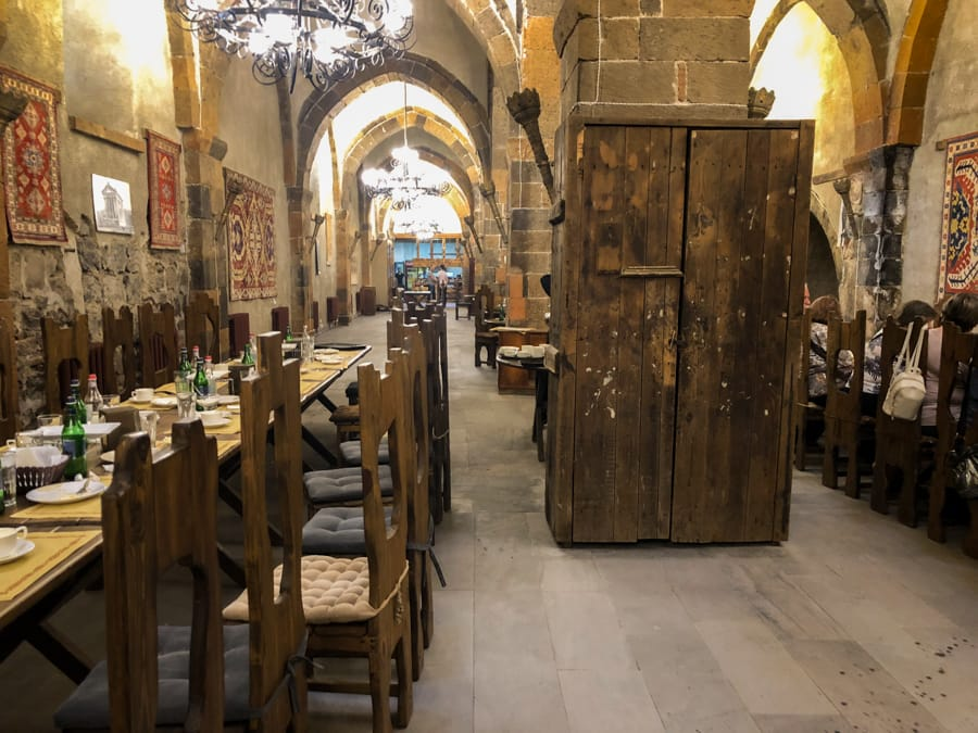 Agape Restaurant - Oldest restaurant in the Caucasus in Etchmiadzin, Armenia