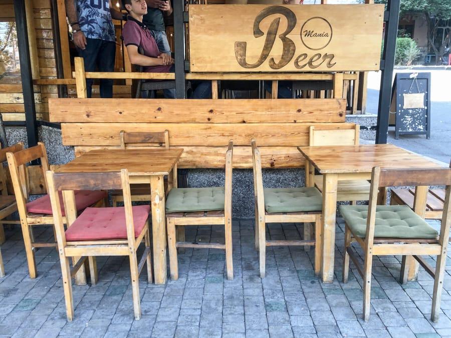 Saryan Street Yerevan - Beer Mania