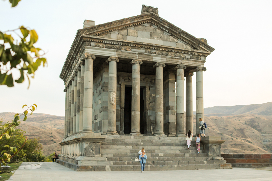things to do in garni armenia pagan temple village-6