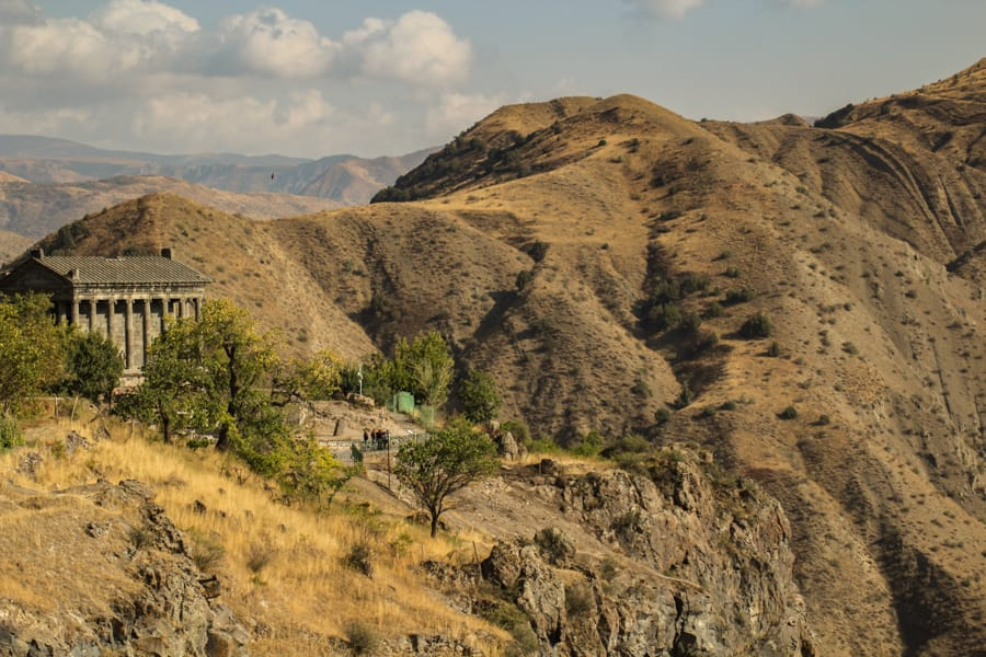 Garni temple and village: Best day trips from Yerevan, Armenia (Yerevan day trips guide)