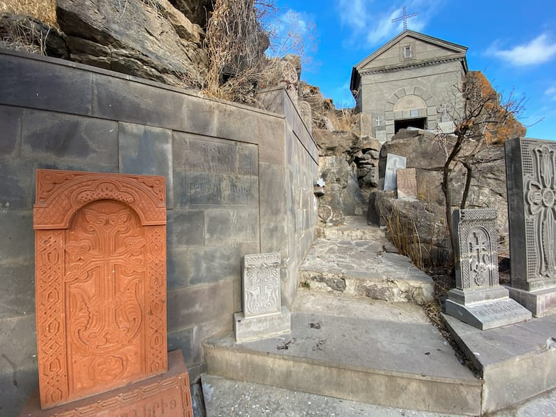 St. Hovhannes Chantry in Gavar, Armenia