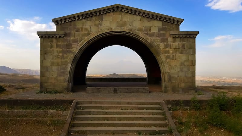 Charents Arch near Garni, Armenia:  Guide to Garni Temple and things to do there