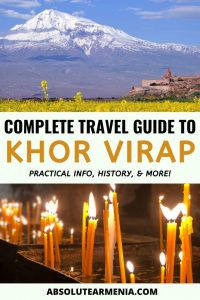 Khor Virap Monastery: A Complete Travel Guide to the Famous Armenian Landmark | Armenia #travel #armenia #yerevan #monastery #khorvirap #ararat | Armenia Trips | Places Near Yerevan | Places to Visit in Armenia | Yerevan Day Tours | Tours from Yerevan | What to do in Yerevan | What to see in Armenia | Armenia travel | Khor Virap Armenia | Armenia Places | Armenia Sights | Where to go Armenia | Armenia history | Armenia photography | Yerevan travel