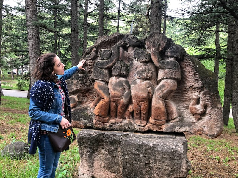 Things to do in Ijevan Armenia Statues