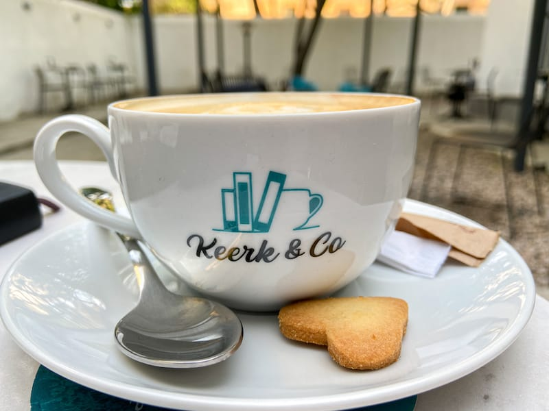Keerk & Co. | Yerevan's Chillest New Cafe - Library