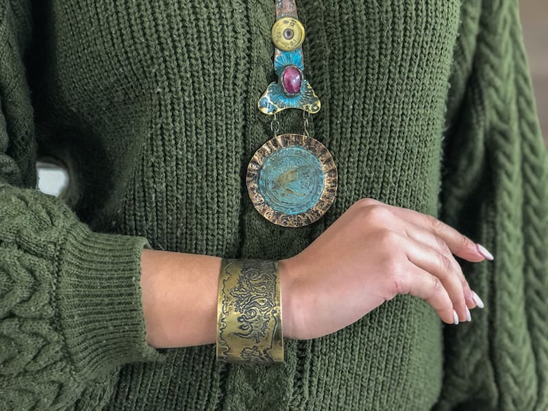 How One Man from Gyumri Turned War Waste into Wearable Art
