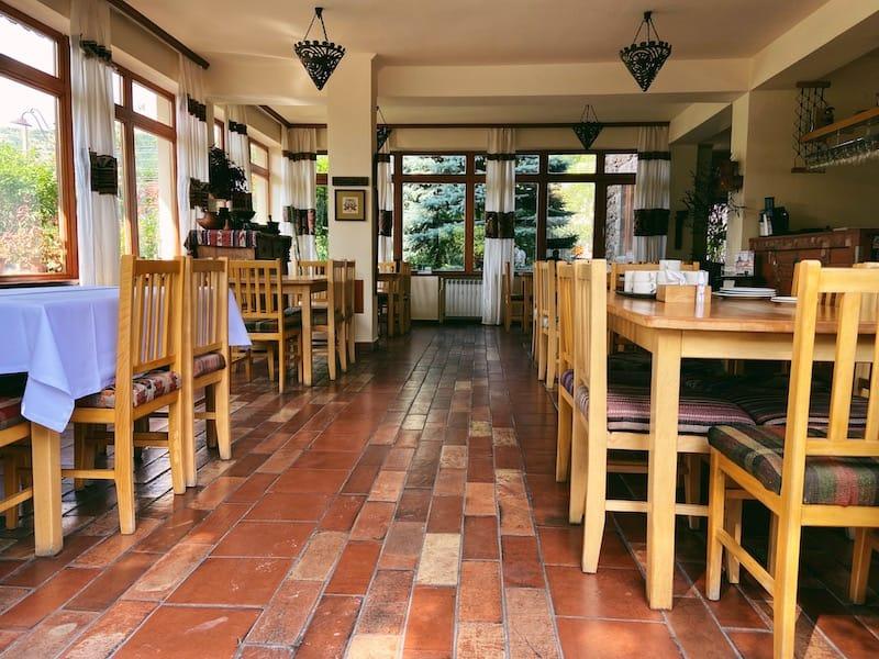 Hotel Mirhav in Goris restaurant