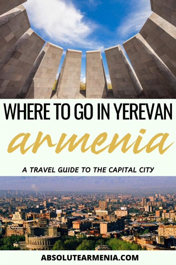 50 Fabulous and Impressive Things to Do in Yerevan: Are you planning a trip to Yerevan? Our guide of things to do in Yerevan will help you plan your activities, day trips, restaurant visits, and much more! #yerevan #armenia #caucasus | What to do in Yerevan | Yerevan landmarks | Yerevan sightseeing | Yerevan landmarks | Places to visit in Armenia | Places to visit in Yerevan | Yerevan restaurants | Yerevan cafes | Yerevan nightlife | Yerevan history | Yerevan photography