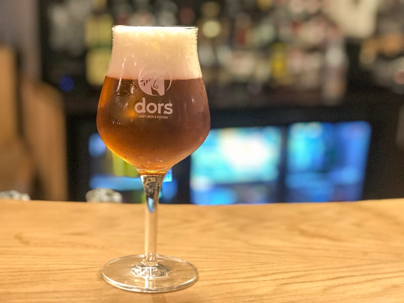 Autumn in Armenia: Dors Craft Beer and Kitchen