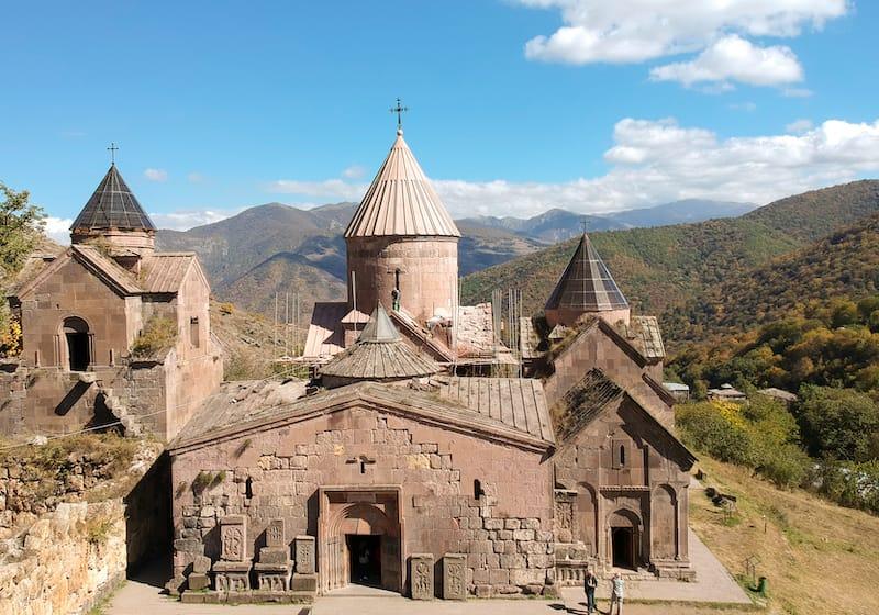 Autumn in Dilijan National Park in Armenia
