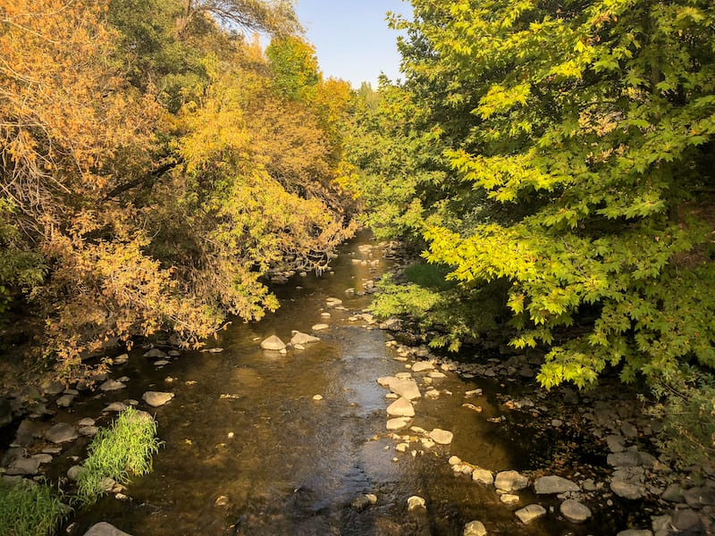 Armenia autumn guide: Hrazdan Gorge