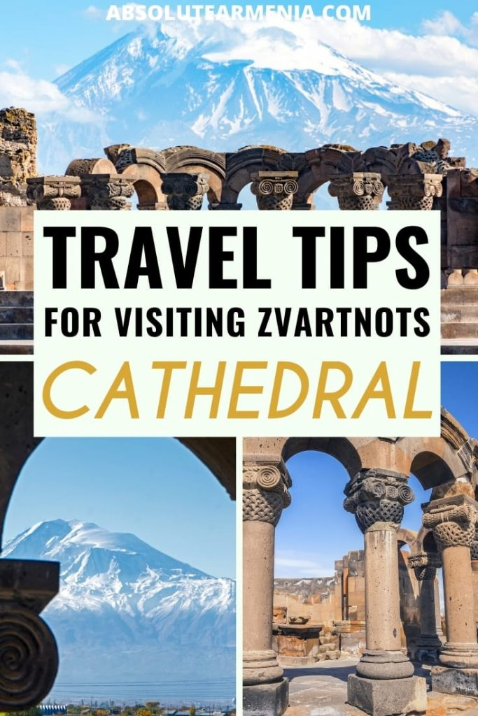 How to Visit Zvartnots Cathedral from Yerevan (And Why You Should!): If you plan to visit Zvartnots Cathedral, this guide will help you plan your trip, including the best way to get there. This Zvartnots travel tips will definitely help! #armenia #zvartnots #echmiadzin Things to do in Armenia | Places to visit in Armenia | Armenia photography | Armenia sights | Armenia history | Yerevan day trips | Things to do in Yerevan | What to do in Armenia n| UNESCO