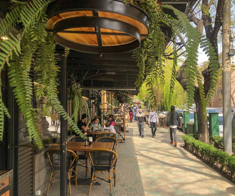 Saryan Street Yerevan Armenia - In Vino Wine Bar