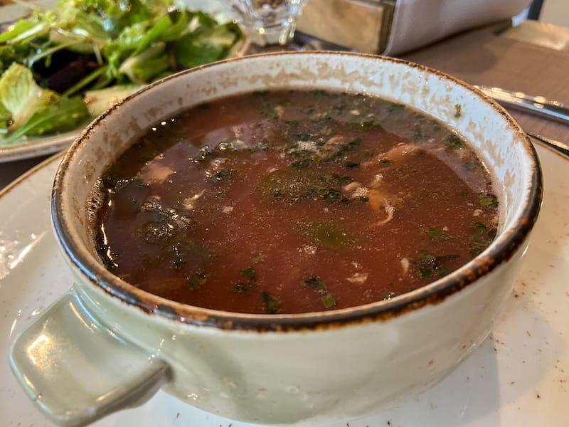 Nraneh soup in Armenia