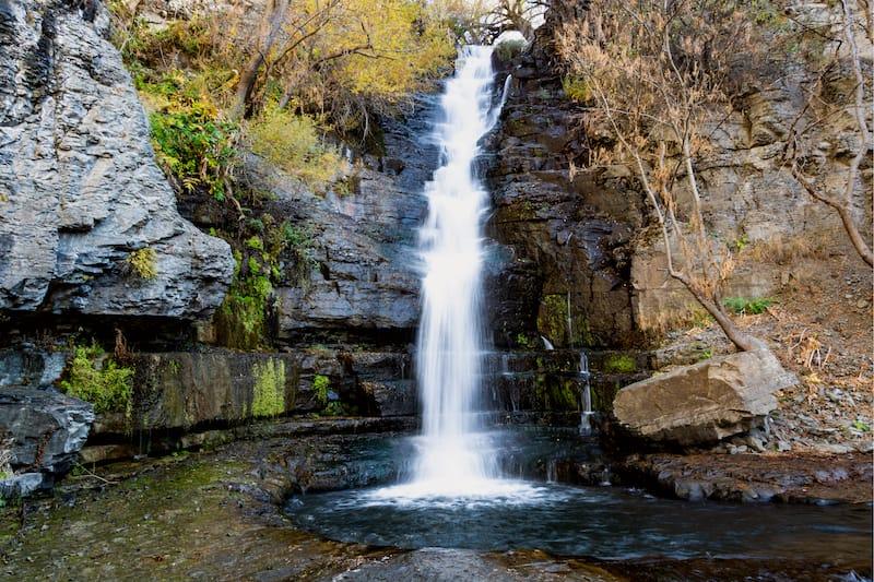 Astghik Waterfall in Armenia - Khosrov Forest