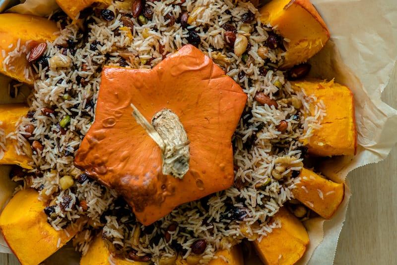 Ghapama Armenian food