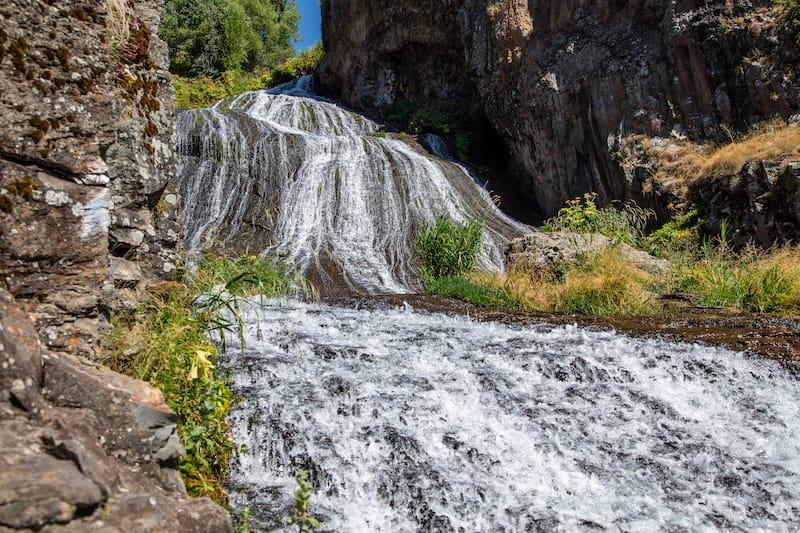 Jermuk Waterfall in Armenia