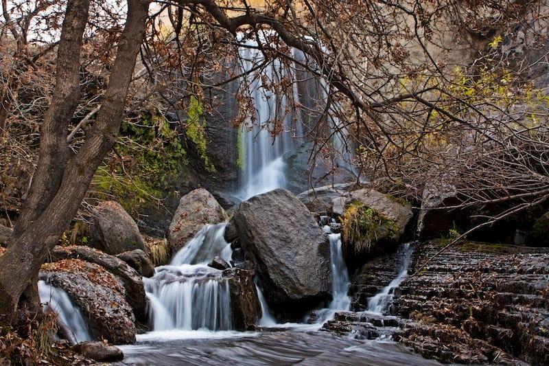 Khosrov Waterfalls in Armenia