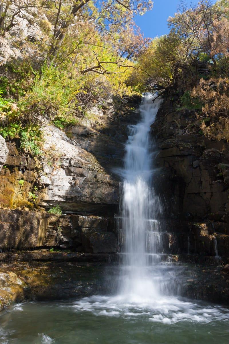 Khosrov waterfall in Armenia