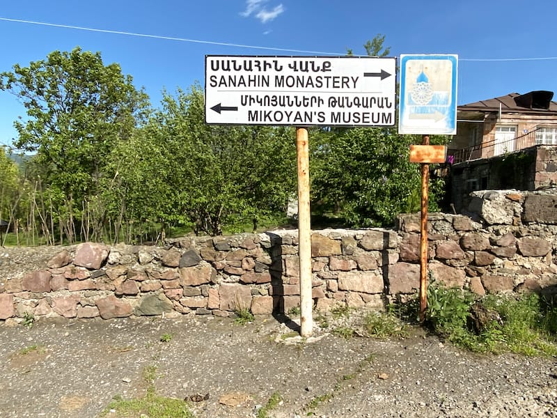 How to visit Sanahin Monastery