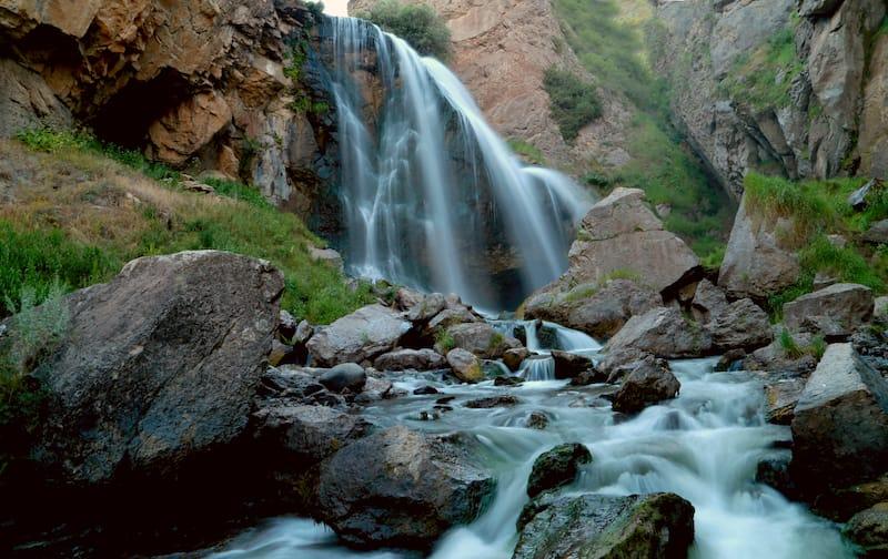 Trchkan Waterfall in Armenia