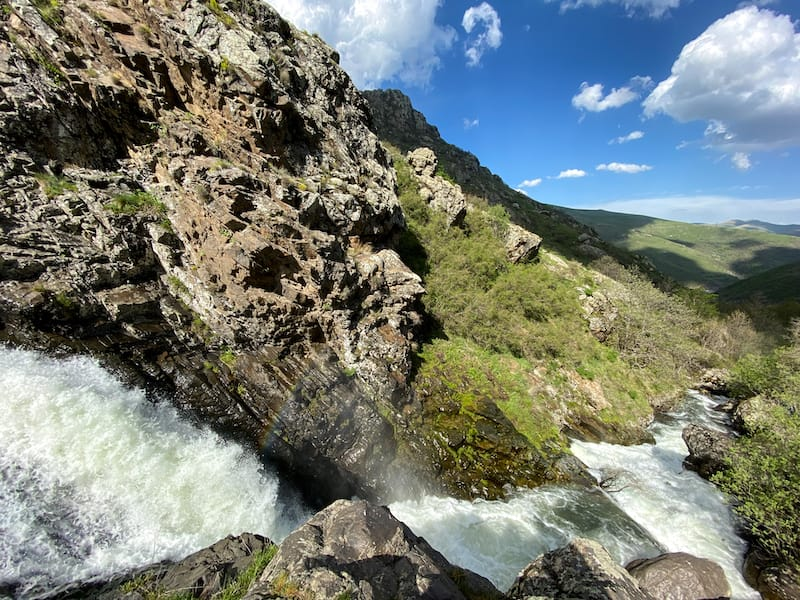 Meghradzor Waterfall in Armenia