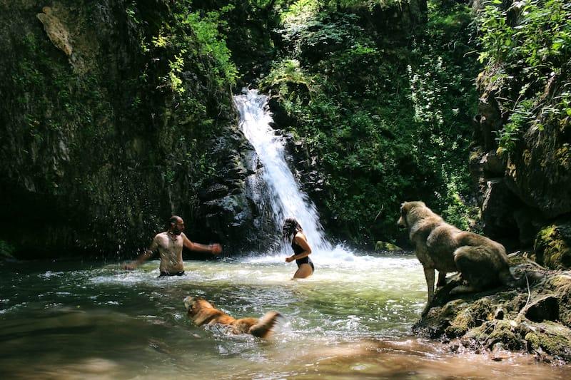 Tandzaver Waterfall in Armenia