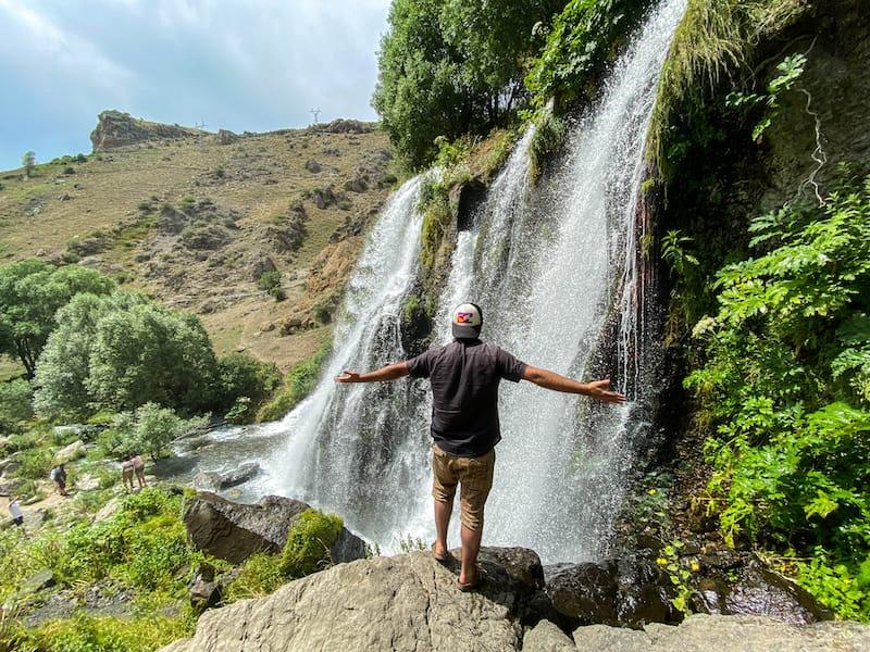 Shaki Waterfall in Armenia