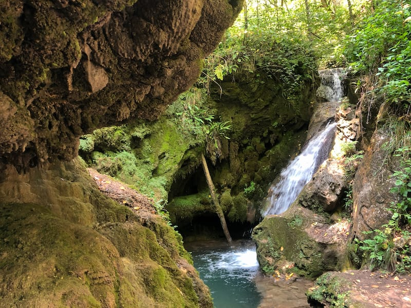 Dilijan Secret Waterfall in Armenia