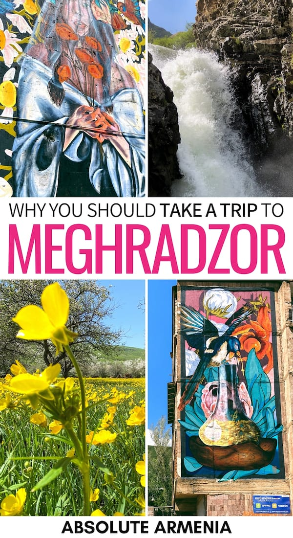Meghradzor is a colorful village in Kotayk and one that should be on your Armenia bucket list! This is a guide of things to do in Meghradzor (and how to get there)! | Kotayk Armenia | Armenia village | Day trip from Yerevan | North Armenia | Visit Meghradzor | Meghradzor travel | Armenia waterfall | Places to visit in Armenia