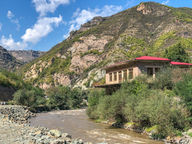 Rafting in Armenia