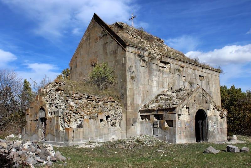 Tejharuyk Monastery in Kotayk Armenia