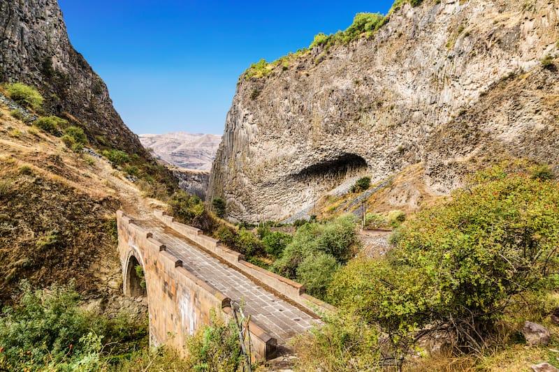 Road to Garni Temple