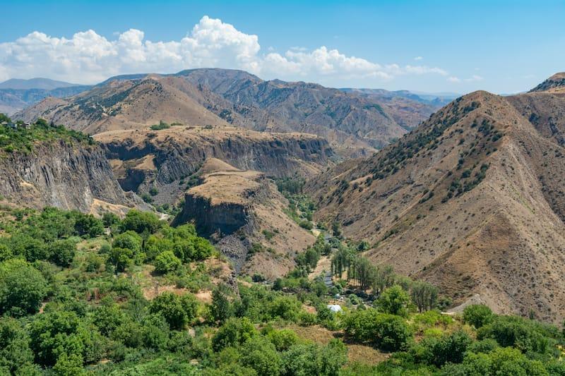 Beautiful Garni Gorge
