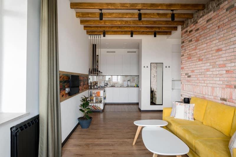 Design-Savvy Apartment with Skyline Views Best Airbnbs in Yerevan, Armenia
