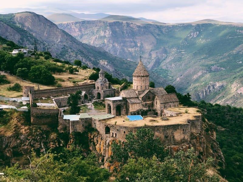 To Tatev from Yerevan