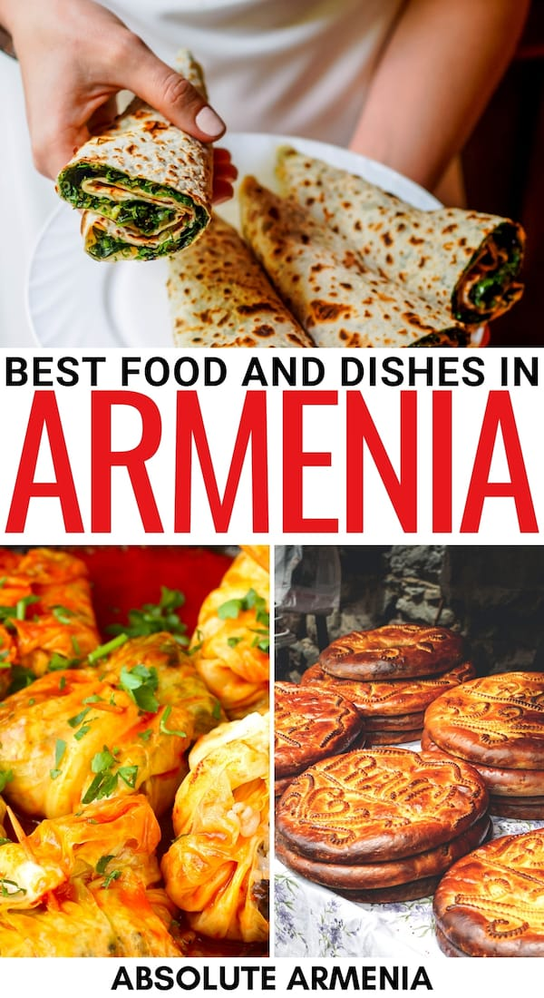 Are you looking to learn more about Armenian food and explore some of the best Armenian dishes that exist? This guide uncovers all! Learn more here! | Food in Armenia | Armenian cuisine | Dishes in Armenia | Best food in Armenia | Vegetarian food Armenia | Soup in Armenia | Meat in Armenia | Ingredients in Armenia | Armenia fruit | Armenia vegetables | Caucasian cooking | Armenia cooking | Armenian BBQ | Khorovats | Vegan food Armenia