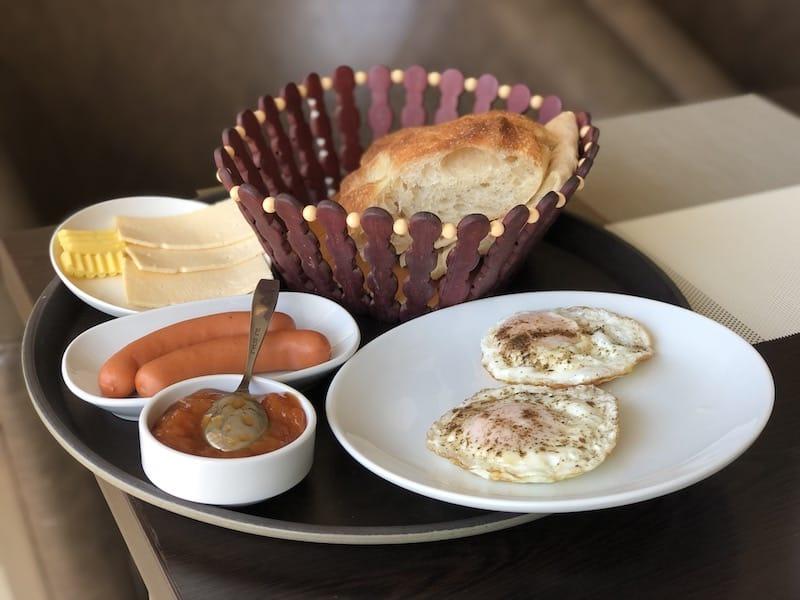 Breakfast at Hotel Laguna in Vanadzor