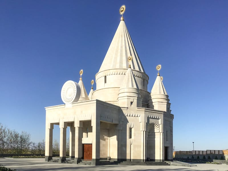 Yazidi Temple in Armenia-5