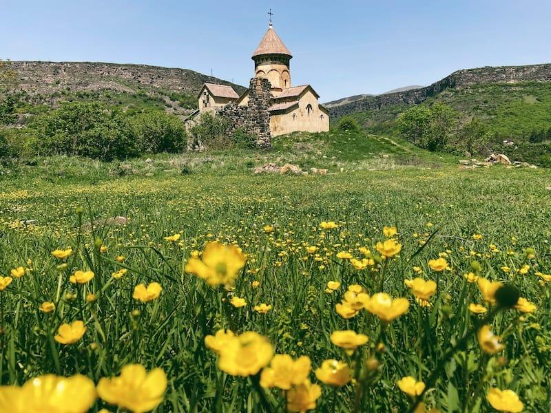 Hnevank Monastery in Kurtan