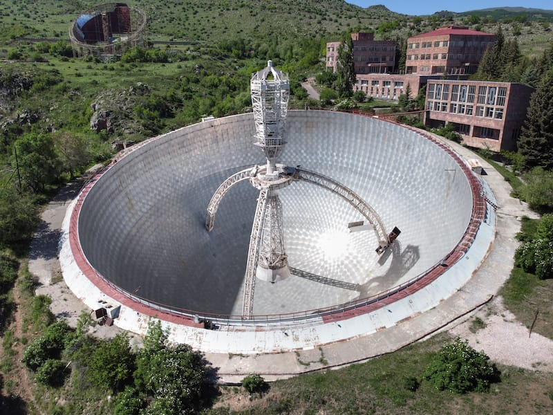 ROT54 Radio Telescope Armenia