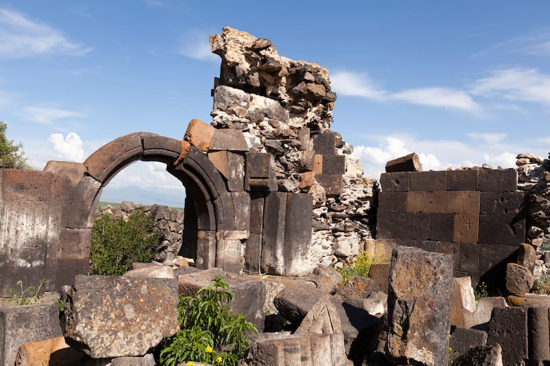 Saint Sargis Monastery in Ushi