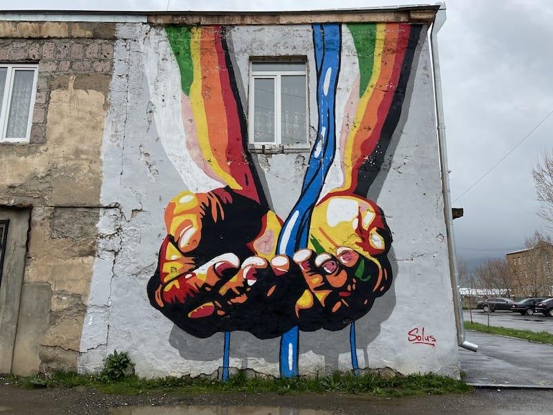 Street Art in Aparan