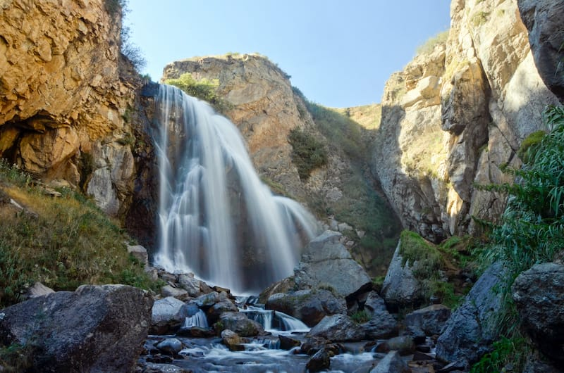 Trchkan Waterfall in Armenia