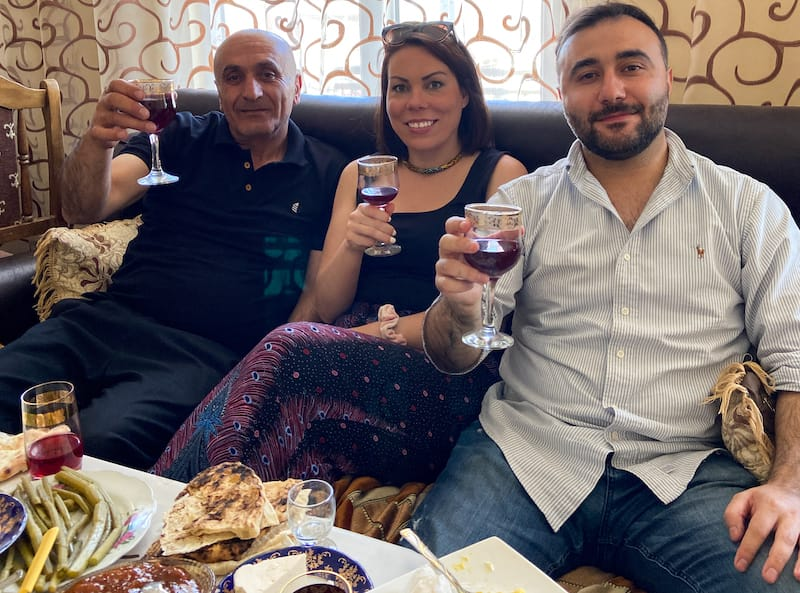 Lavash and Top-Notch Comfort at the MVN Guesthouse in Goris