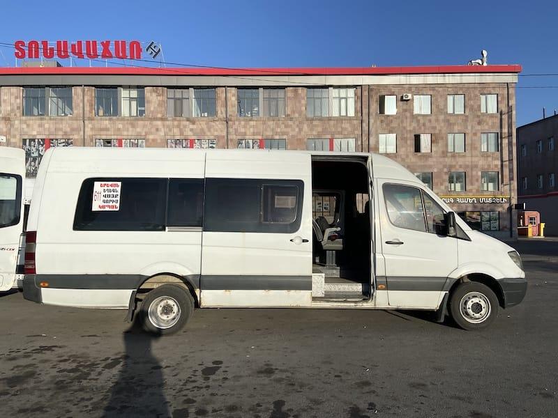 Marshrutka from Yerevan to Goris and Kapan