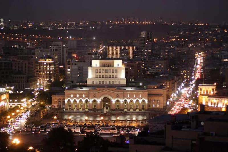 Tbilisi to Yerevan by bus